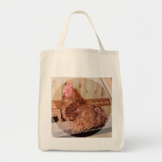 Sue the Roo Grocery Bag