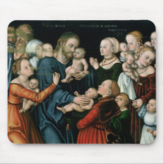Suffer the Little Children to Come Unto Me, 1538 Mouse Pad