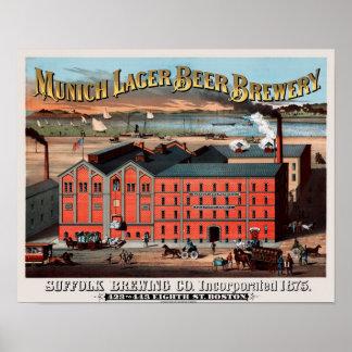 Suffolk Beer Poster