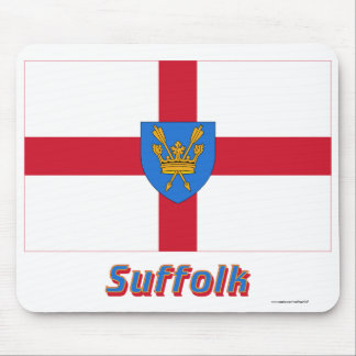 Suffolk St Edmund's Proposal Flag with Name Mouse Pad