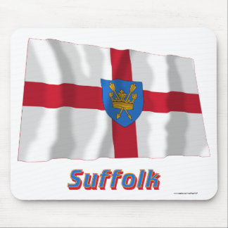 Suffolk St Edmund's Proposal Waving Flag with Name Mousepad