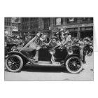 Suffragette Flower Sale, 1916 Card