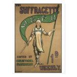 Suffragette Magazine Postcard
