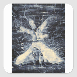 sufi whirling-february 14,2013.JPG Square Sticker