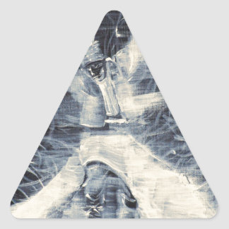 sufi whirling-february 14,2013.JPG Triangle Sticker