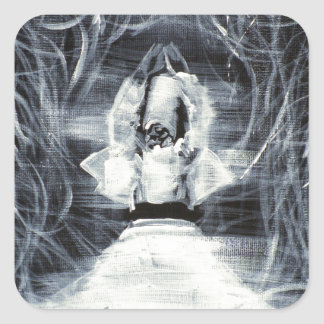 sufi whirling - february 19,2013.JPG Square Sticker