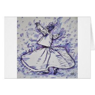 sufi whirling - NOVEMBER 19,2017 Card