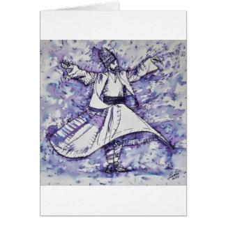 sufi whirling - NOVEMBER 21,2017 Card
