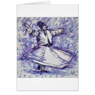 sufi whirling - NOVEMBER 27,2017 Card