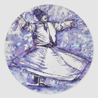 sufi whirling - NOVEMBER 27,2017 Classic Round Sticker