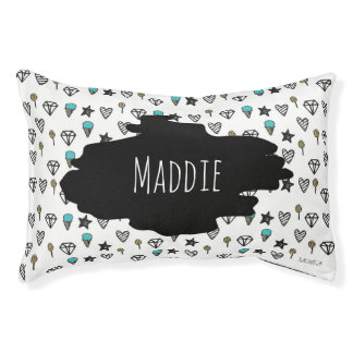 Sugar and Bling Doodle Dog Bed