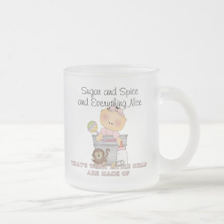 Sugar and Spice and Everything Nice Frosted Mug