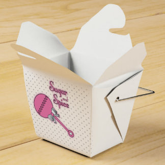 Sugar and Spice Wedding Favor Boxes