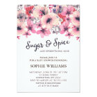 Sugar and Spice Girl Baby Shower Card