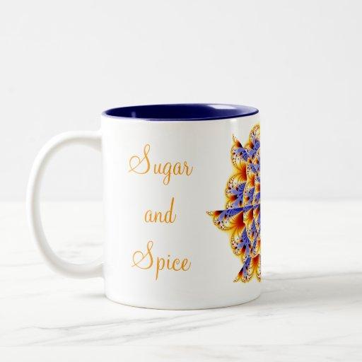 Sugar and Spice Lace Mug