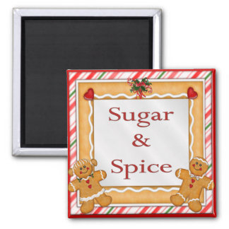 Sugar and Spice Magnet