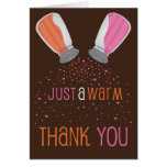 Sugar and Spice Thank You Card