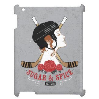 Sugar and Spice Womens Hockey iPad Covers