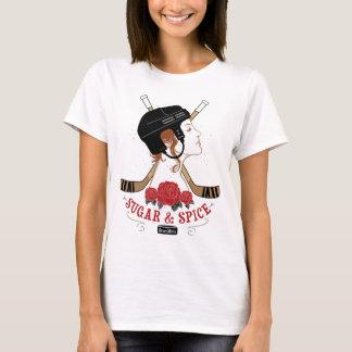 Sugar and Spice Womens Hockey T-Shirt