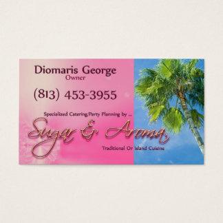 Sugar & Aroma Business Card