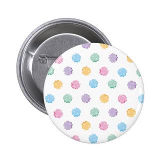 Sugar candy dot goods 6 cm round badge