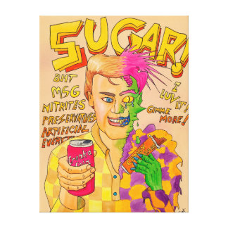 Sugar! Canvas Print