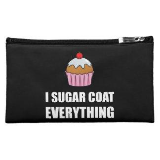 Sugar Coat Everything Cupcake Makeup Bag