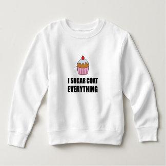 Sugar Coat Everything Cupcake Sweatshirt