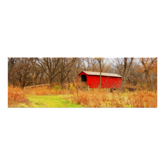 Sugar Creek Covered Bridge Poster