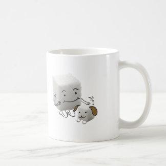 Sugar Cube Mug With Sugar Cube Dog