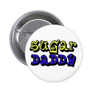 Sugar Daddy 6 Cm Round Badge