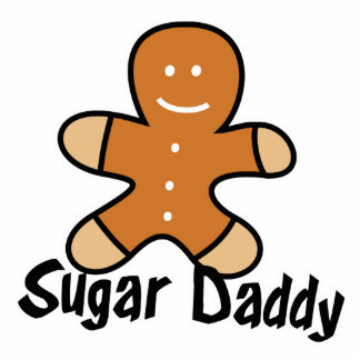 Sugar Daddy Gingerbread Man Standing Photo Sculpture