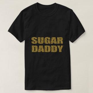 SUGAR DADDY gold glitter design T Shirt