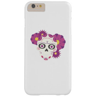 Sugar Flower Skulls  Happy Halloween Funny Barely There iPhone 6 Plus Case
