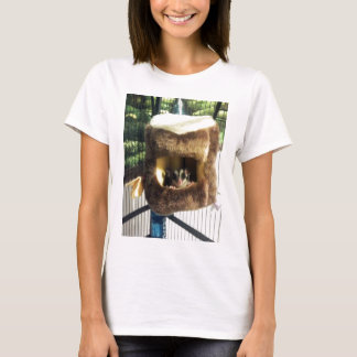 Sugar Glider in Furry Tree Truck Hanging Bed T-Shirt