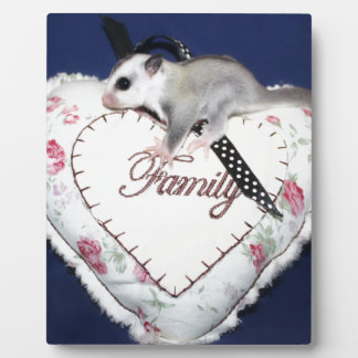Sugar Glider Loves Family Photo Plaques