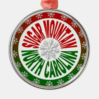 Sugar Mountain North Carolina holiday ornament