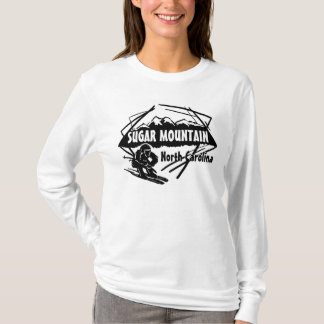 Sugar Mountain North Carolina ladies hoodie