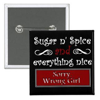 Sugar n Spice Button