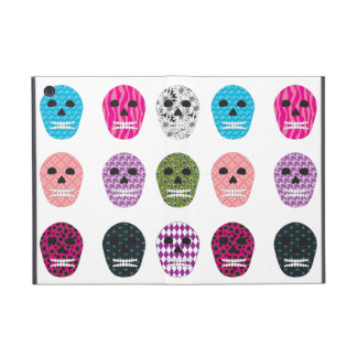 Sugar Pattern Skulls iPad Mini Covers