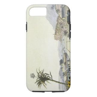 Sugar Plantation, Antilles (colour engraving) iPhone 7 Case