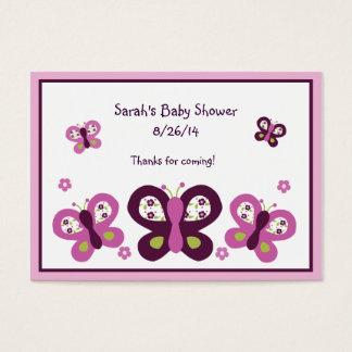 Sugar Plum Butterflies Favor/Tags Business Card
