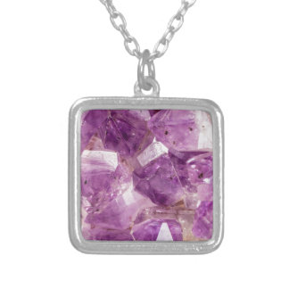 Sugar Plum Fairy Crystals Silver Plated Necklace