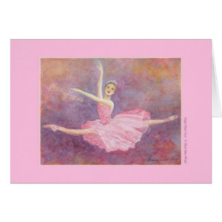 Sugar Plum Fairy Greeting Card (customizable)