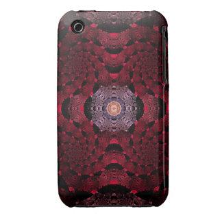Sugar Plum Fractal Art Case-Mate iPhone 3 Cases
