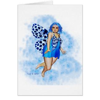 Sugar Plump Fairies - Blueberry Ripple Card