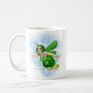 Sugar Plump Fairies-Lemon Lime Coffee Mugs