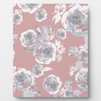 Sugar Roses Plaque