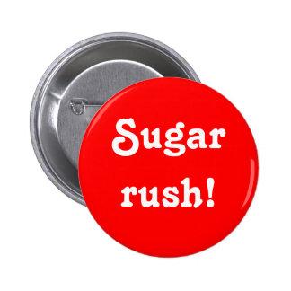 """Sugar rush!"" Button"