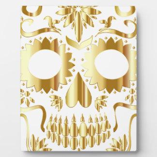 sugar-skull-1782019 display plaque